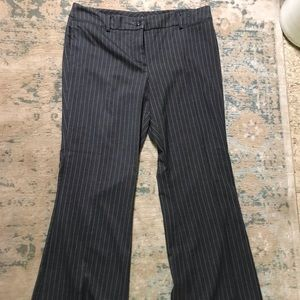 New York & company stripped trousers